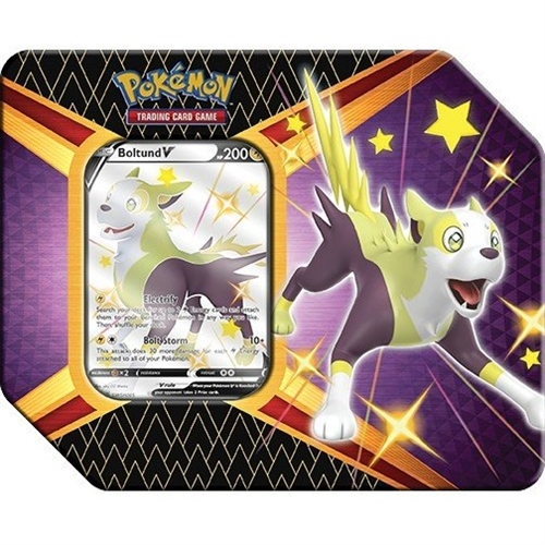 Pokemon kort - Shining Fates - V Tin Shiny Boltund